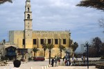 Jaffa: St. Peter's Church by Chet Smolski