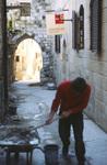 Jerusalem: Old City Alleyway