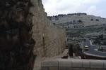 Jerusale: Eastern Wall toward Mt. of Olives
