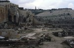 Jerusalem: Ruins & Mt. of Olives