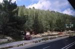 Jerusalem: Truck Chasis from 1948 War on Roadside