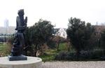 Jerusalem: Israel Museum, Sculpture, Shrine of the Book