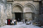 Jerusalem: Church of the Holy Sepulchre (Detail)