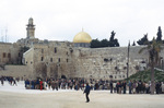 Jerusalem: The Wailing Wall at the Noble Sanctuary
