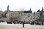Jerusalem: The Wailing Wall at the Noble Sanctuary