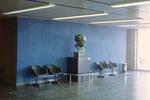 Tel Aviv: Bust of David Ben-Gurion in Airport