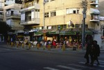 Tel Aviv: Dizengoff Street on the Shabbat