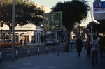 Tel Aviv: Allenby St. street signs