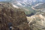 Masada: Ruins, View From Top