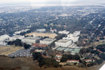 "Charleston: Aerial View of ""The Citadel: Military College of South Carolina"""