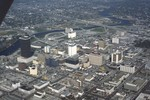 Florida: Aerial of Downtown Tampa (1 of 3)