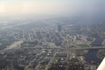 Florida: Aerial of Downtown Tampa (3 of 3)
