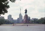 Kharkov Square & Lenin monument - Ukraine by Chet Smolski