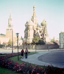 Moscow - St. Basils Cathedral by Chet Smolski and Postnik Yakovlev