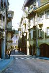 Bellinzona Street Scene Switzerland