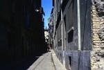 Zaragoza: Narrow Street Scene by Chet Smolski