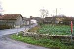 """Spain - Village in North. Stones - little wood Bilbao area"""