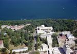 University of Wisconsin: Sewell Social Sciences Building, Aerial Photograph of Campus