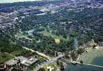 Wisconsin: Tenney Park & Yahara River in Madison, Aerial Photograph