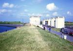Netherlands: Sluice Gates on Enclosure Dam & IJsselmeer