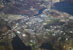 Apponaug: Aerial Photograph, City Hall, Junction of State Roads