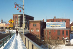 View of Downtown Woonsocket from Court Street Bridge by Chet Smolski