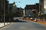 Construction on Weybosset St: Beneficient Congregational Church and Loews Theater