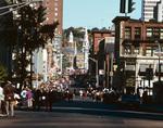 Columbus Day Parade on Washington St.