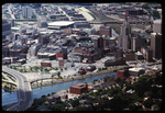 Downtown Providence: Looking west (aerial)