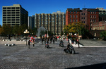 Cathedral Square on Columbus Day