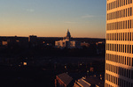 Providence: State House at sunset