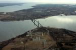 Bristol: Mt. Hope Bridge & Roger Williams University (Aerial) 2
