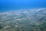 Rochester:Lake Ontario (aerial)
