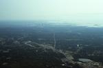 Boston Landscape and Skyline (aerial)