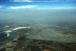 Mexico City: Smog (aerial) by Chester Smolski