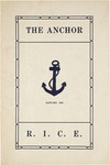 The Anchor, vol. 1, issue 1