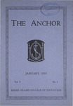 The Anchor Volume 5, Issue 2 (1933)