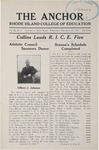 The Anchor Volume 9, Issue 3 (1937) by Rhode Island College of Education