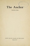 The Anchor Volume 10, Issue literary issue (1939)