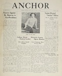 The Anchor (1944, Volume 17 Issue 01) by Rhode Island College of Education