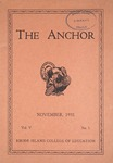 The Anchor (1932, Volume 05 Issue 01)