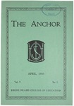 The Anchor (1933, Volume 05 Issue 03)