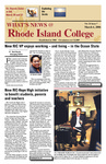 What's News At Rhode Island College